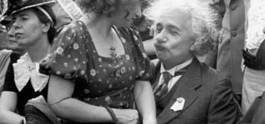 Альберт Эйнштейн со своей дочерью